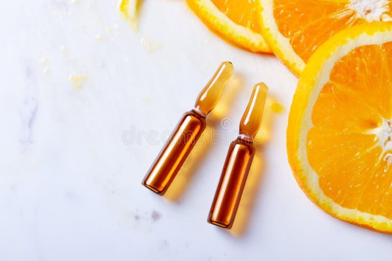 Begrepp f?r vitamin C royaltyfria foton