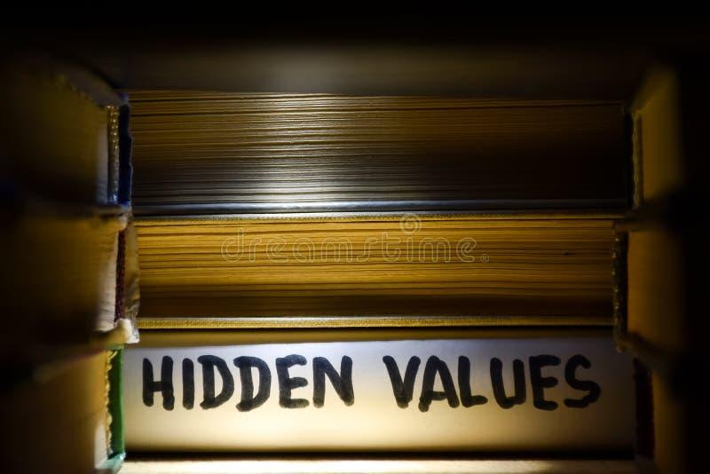 Begrepp - finna lösningar och att finna gömda tillfällen och värden royaltyfri fotografi
