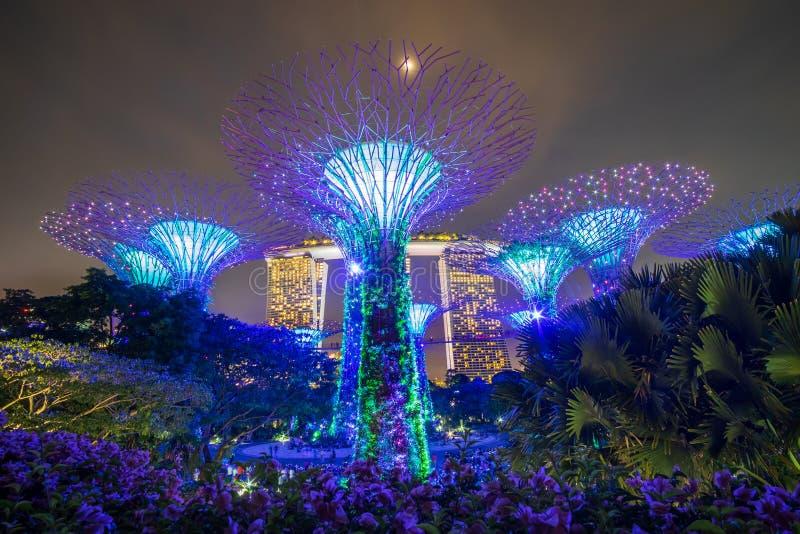 Begrepp, gränsmärke och populärt för Singapore lopp för turist- dragningar arkivfoton