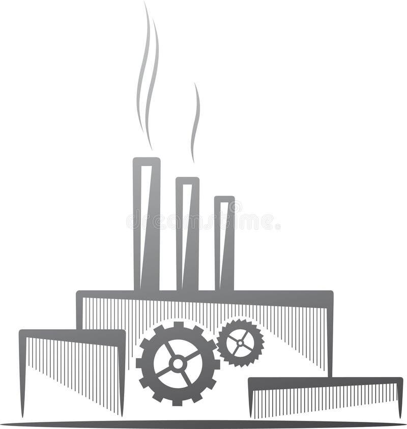 begreppsindustri vektor illustrationer