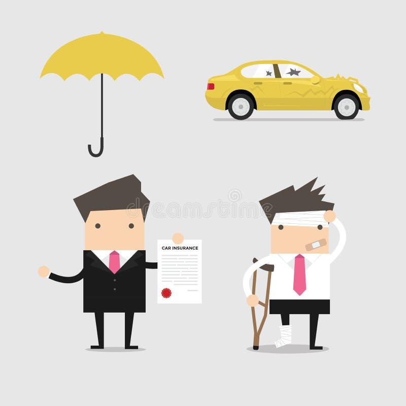 Begreppsmässig affärsförsäkringservice
