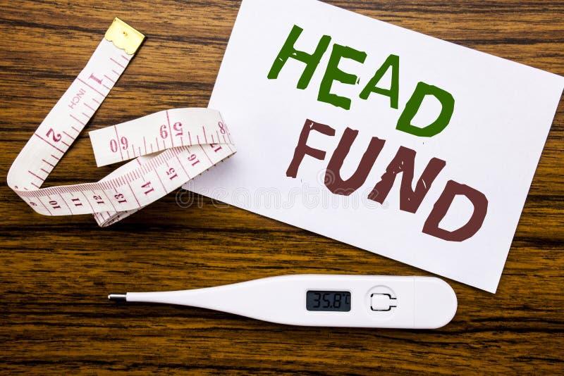 Begreppsmässig fond för huvud för visning för överskrift för handhandstiltext Affärsidé för investeringfinansieringpengar som är  royaltyfri fotografi