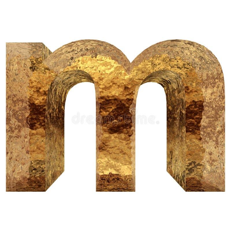 Begreppsmässig guld- stilsort royaltyfri foto