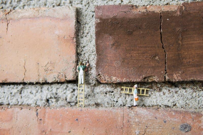 Begreppsmässig miniatyr arkivfoton
