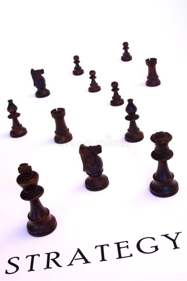 begreppsstrategi royaltyfri bild