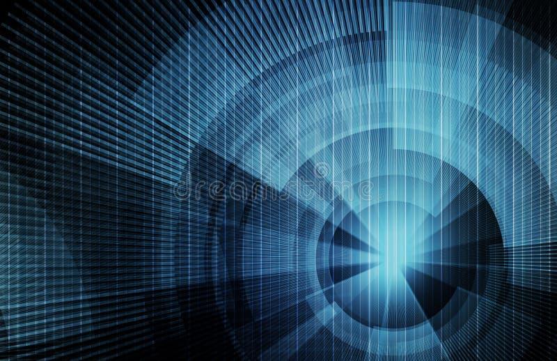 begreppsteknologi vektor illustrationer
