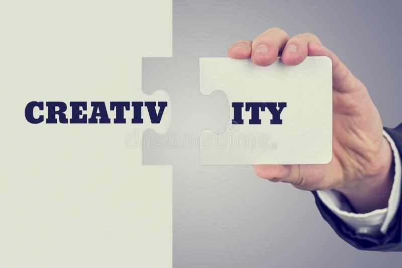 Begriffsbild der Kreativität stockfotos