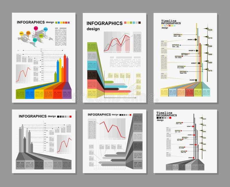 begriffsfreier raum buntes infographics design vektor abbildung illustration von netz daten. Black Bedroom Furniture Sets. Home Design Ideas
