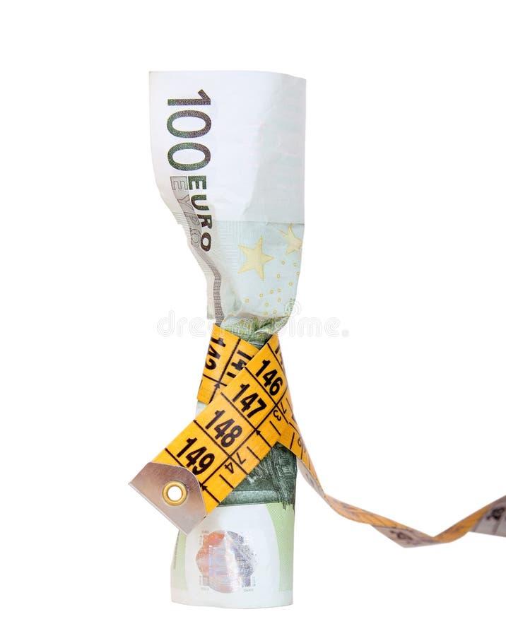 Begroting op een dieet royalty-vrije stock foto's