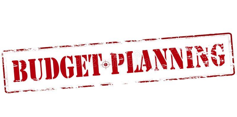 Begroting planning royalty-vrije illustratie
