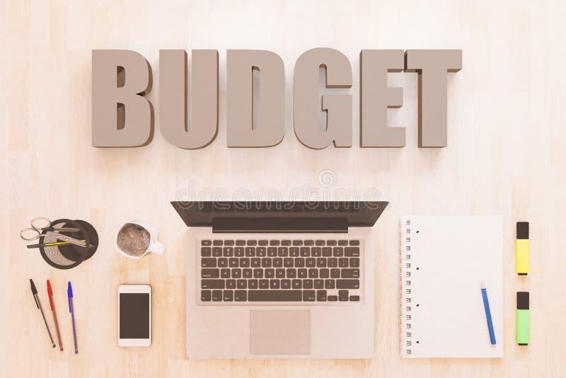 begroting royalty-vrije illustratie