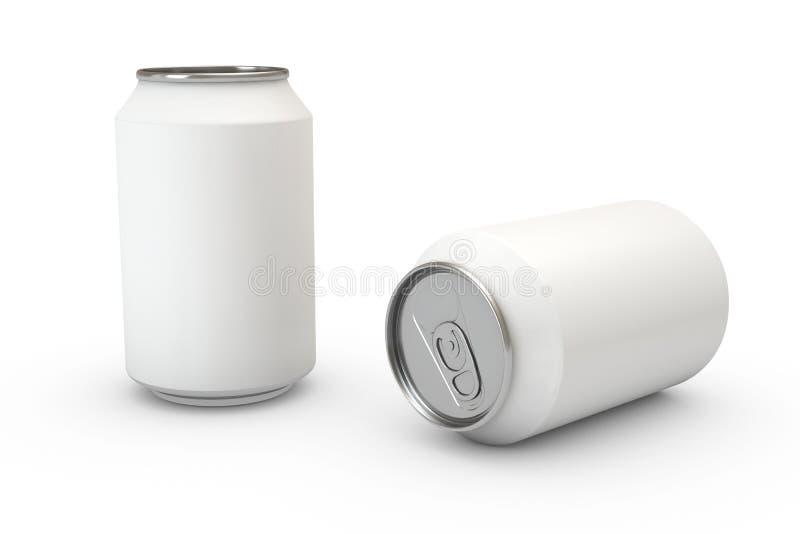Behälter auf Weiß lizenzfreie abbildung