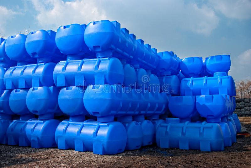 Behälter für Flüssigkeiten stockfotos