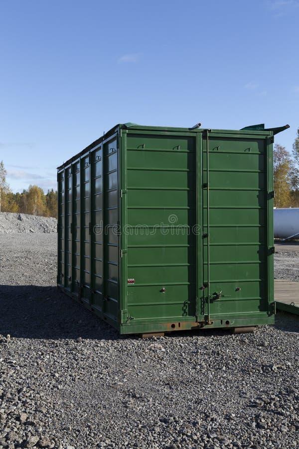 Behälter für Transport stockfoto