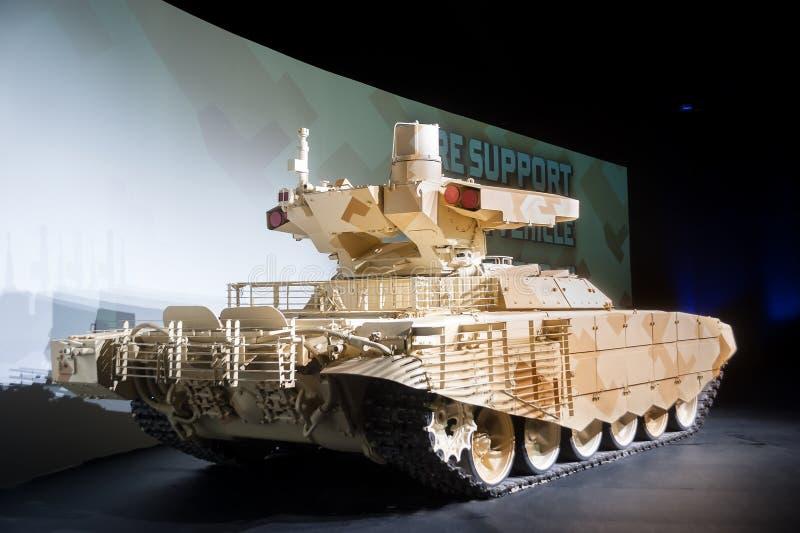 Behälter-Stützkampffahrzeug Terminator-2 stockfoto