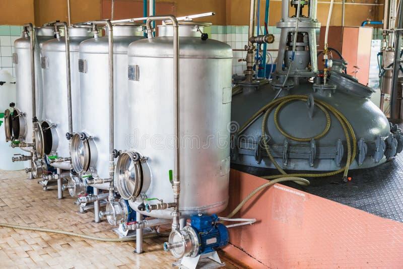Behälterausrüstung lizenzfreie stockfotografie