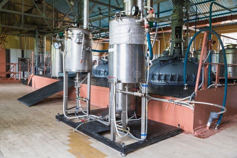 Behälterausrüstung stockfotografie