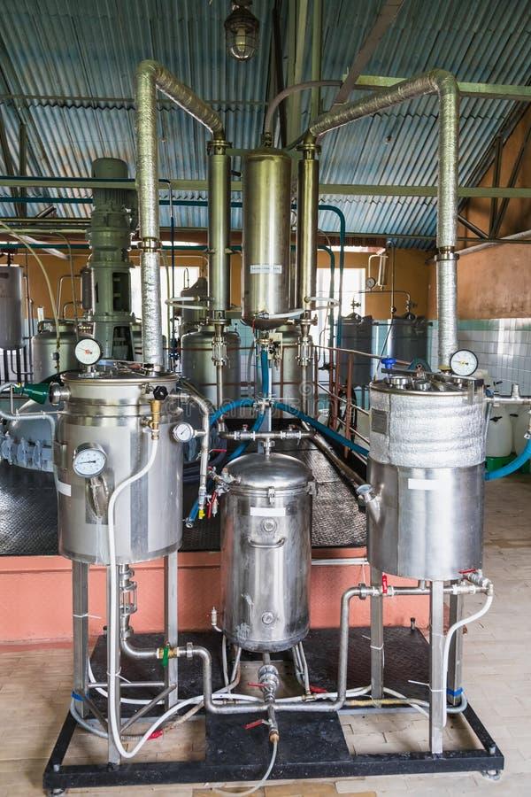 Behälterausrüstung lizenzfreie stockfotos