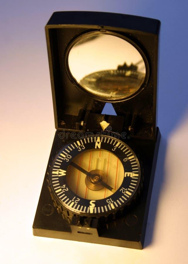 behändig kompass royaltyfri bild