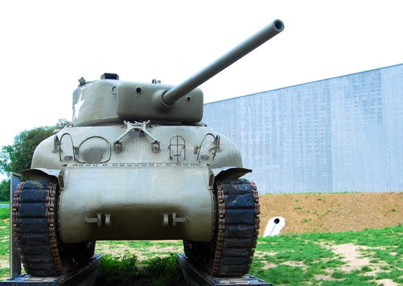 Behållare för Sherman World krig II arkivbild