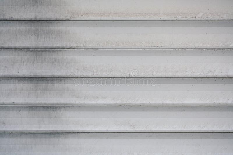 Behållare för texturjärngrå färger arkivfoto