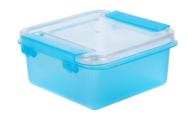 behållareplast- arkivbild