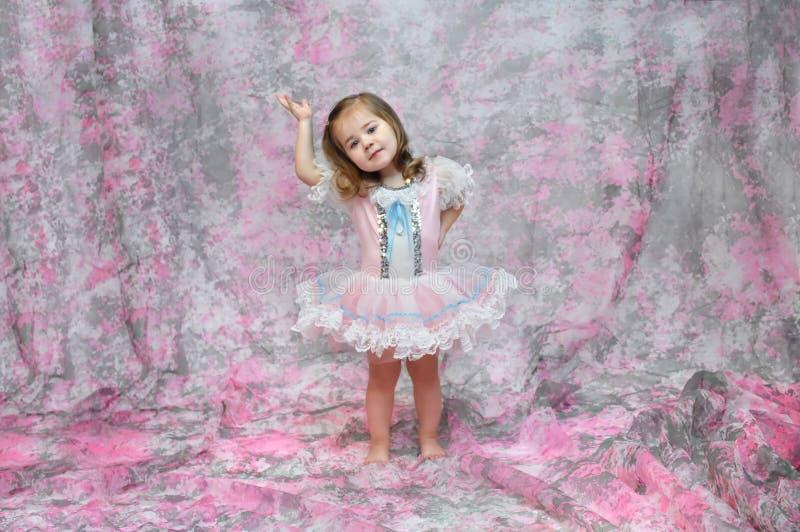 behagfull ballerina royaltyfri fotografi