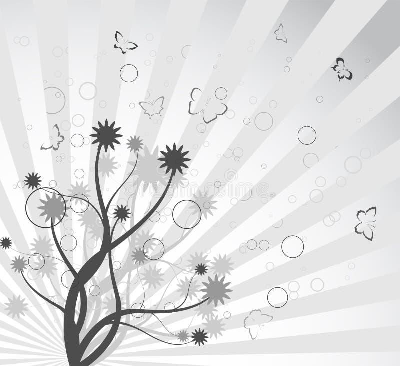 behagfull tree för abstrakt bakgrundsfilial fotografering för bildbyråer