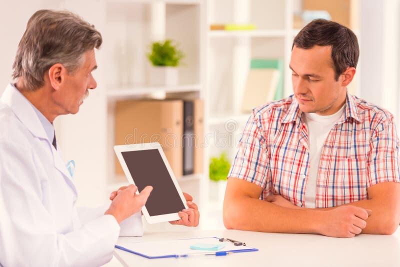 Behandel mannelijke ziekten royalty-vrije stock fotografie