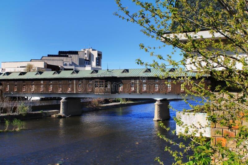 Behandelde brug, Lovech, Bulgarije royalty-vrije stock fotografie