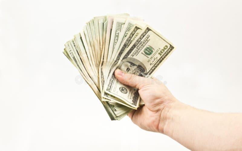 Behandelend Geld stock afbeelding