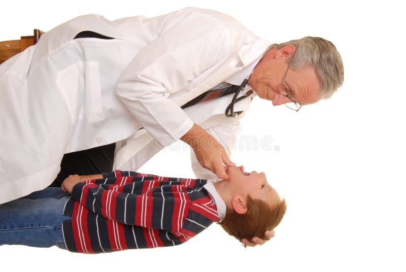 Behandeln Sie mit Patienten 3 stockbild