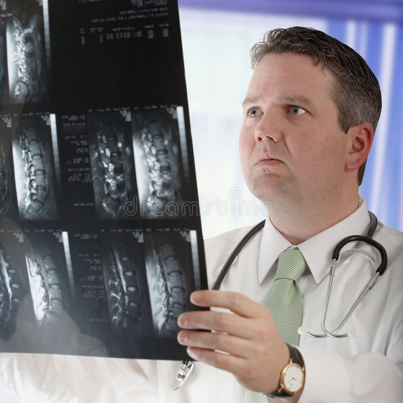 Behandeln Sie With Mri lizenzfreies stockfoto