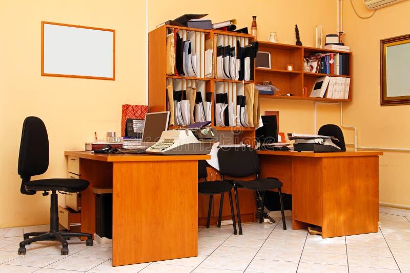 Behandelt Büro lizenzfreie stockbilder
