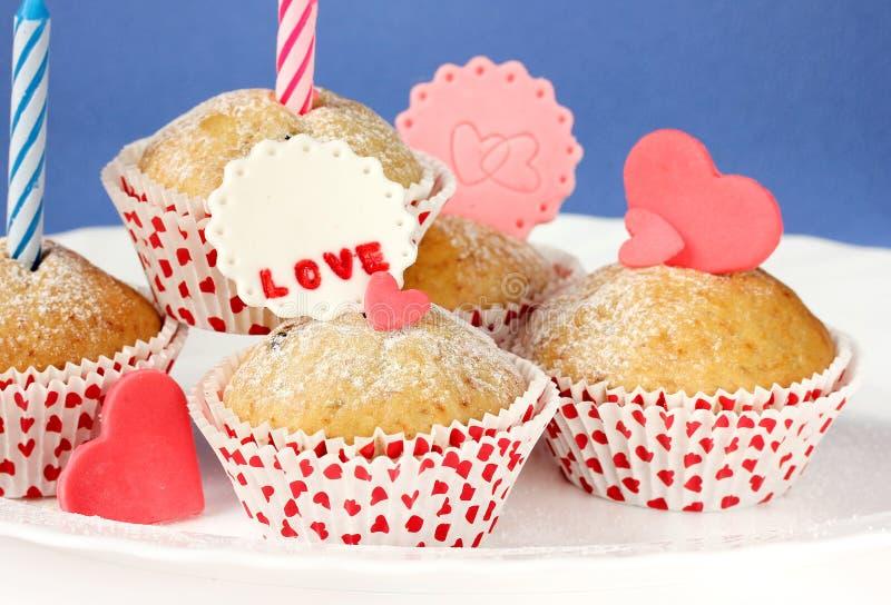 Behandelt voor de Dag van Valentine ` s royalty-vrije stock afbeelding