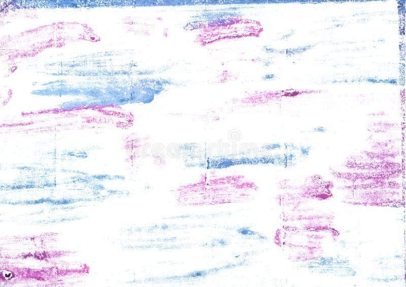 Behandla som ett barn abstrakt vattenfärgbakgrund för pulver royaltyfri bild