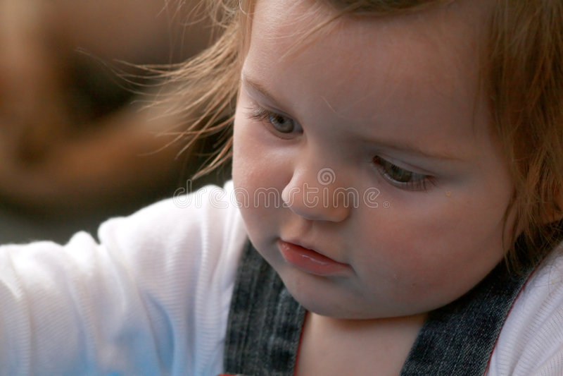 behandla som ett barn att koncentrera arkivfoton