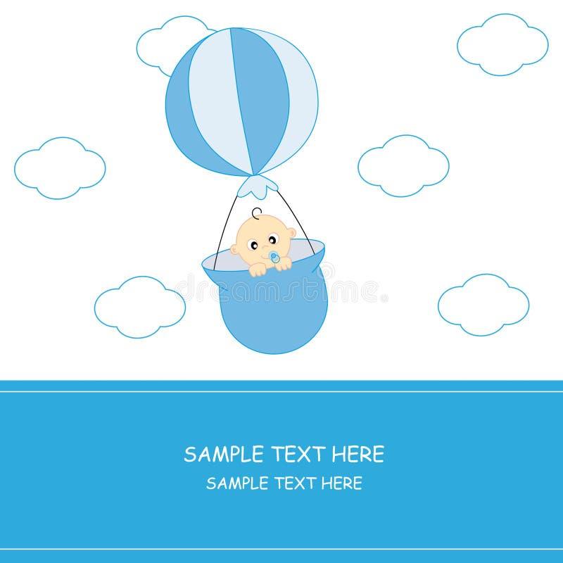 behandla som ett barn ballongen stock illustrationer