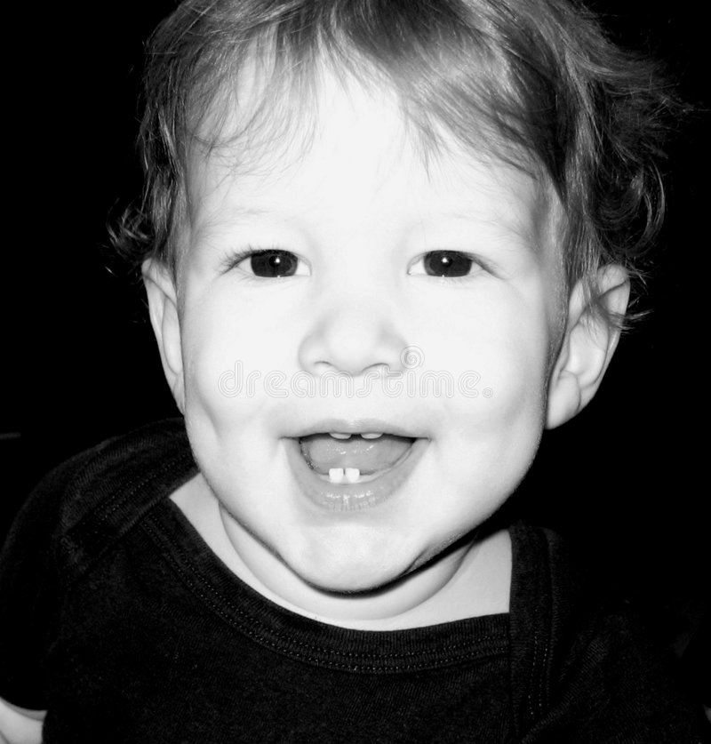Behandla Som Ett Barn Den Lyckliga Pojken Royaltyfri Fotografi