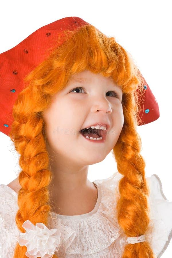 behandla som ett barn den nätt klänningfestivalen royaltyfri bild