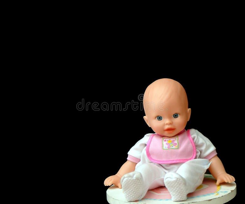 behandla som ett barn - dockan fotografering för bildbyråer