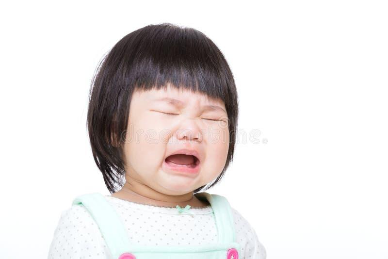 Behandla som ett barn gråt och isolerade arkivbilder