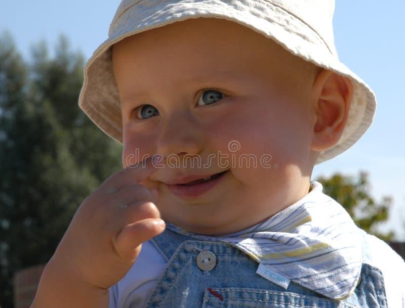 behandla som ett barn gulligt royaltyfri bild