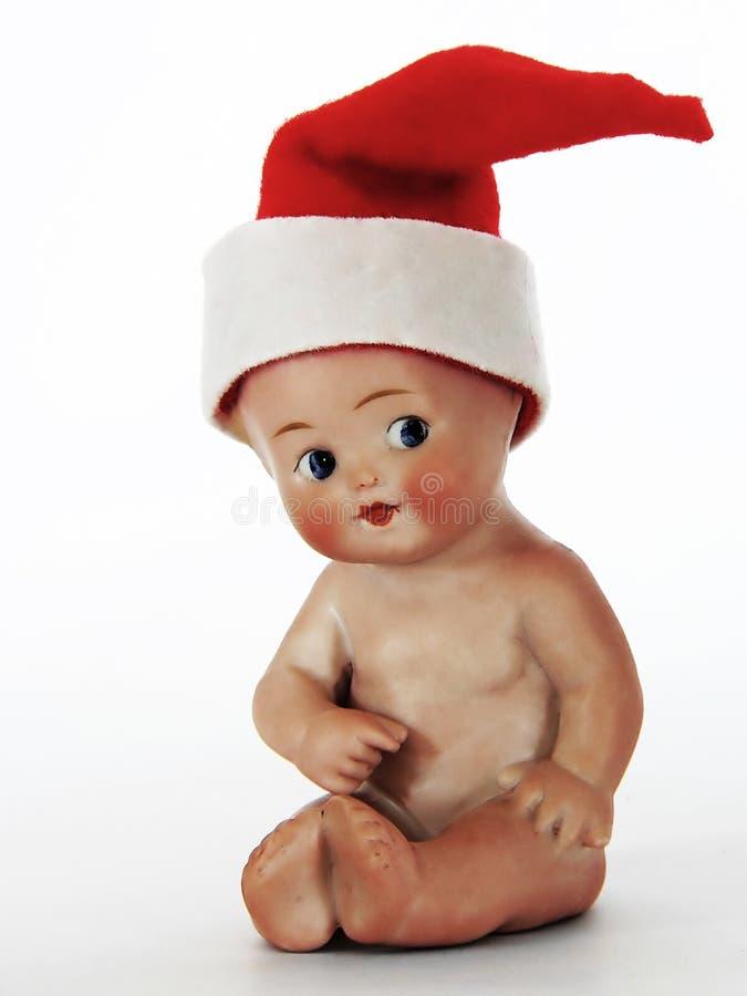Download Behandla som ett barn jul fotografering för bildbyråer. Bild av docka - 987083