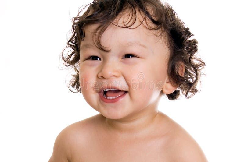 behandla som ett barn lyckligt royaltyfri foto
