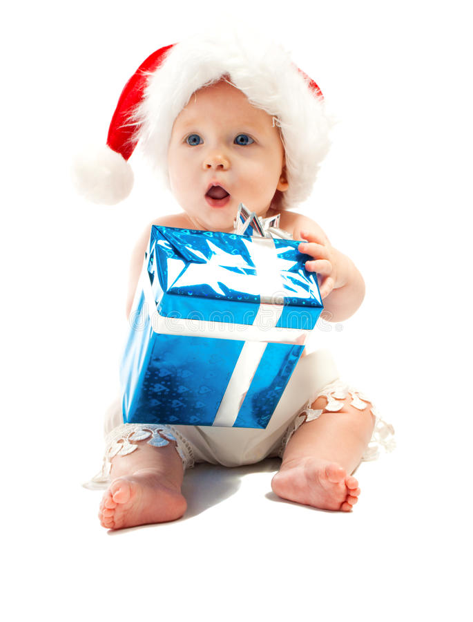 behandla som ett barn presenten arkivfoton