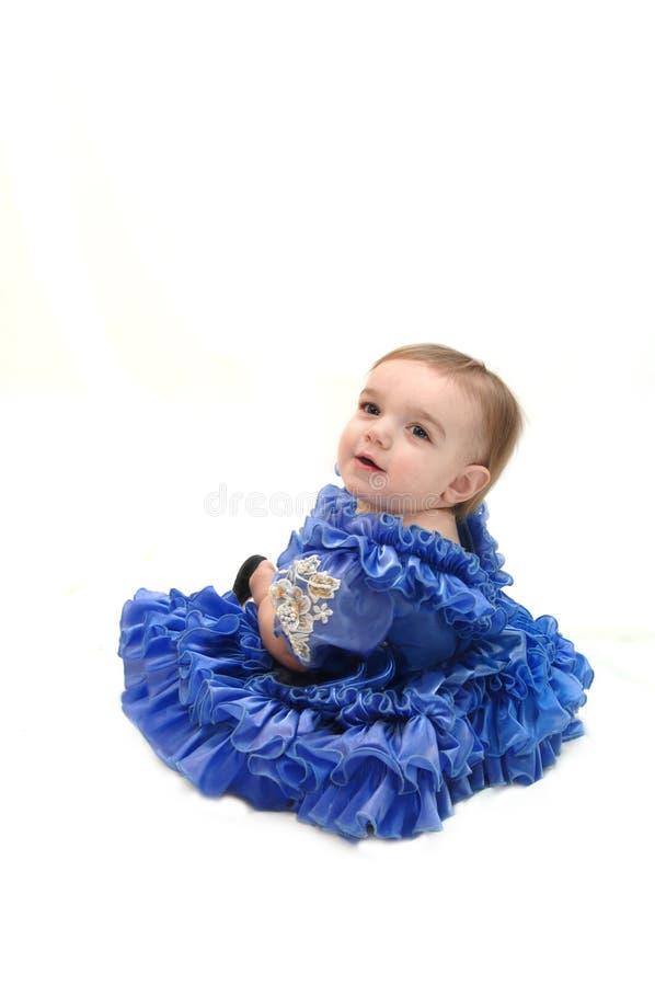 behandla som ett barn princessen arkivfoton