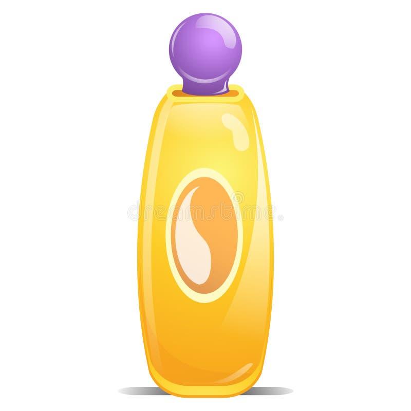 behandla som ett barn shampoo royaltyfri illustrationer
