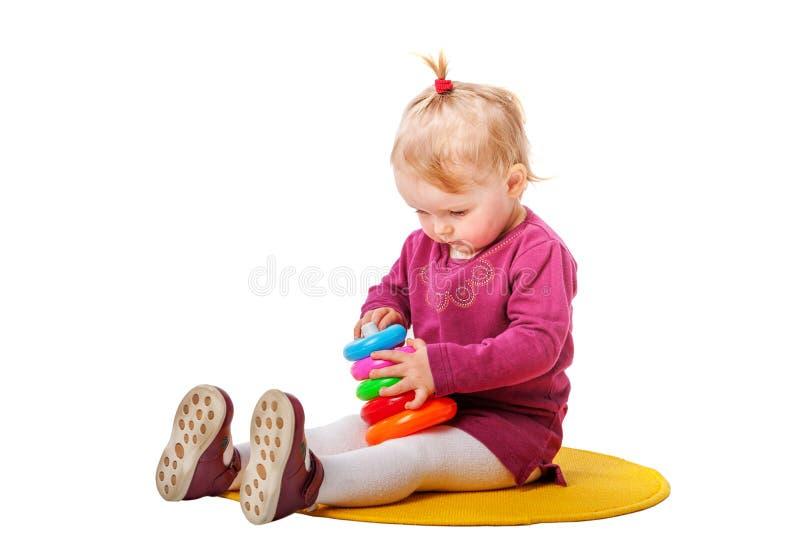 Behandla som ett barn spela sammanträde arkivfoton