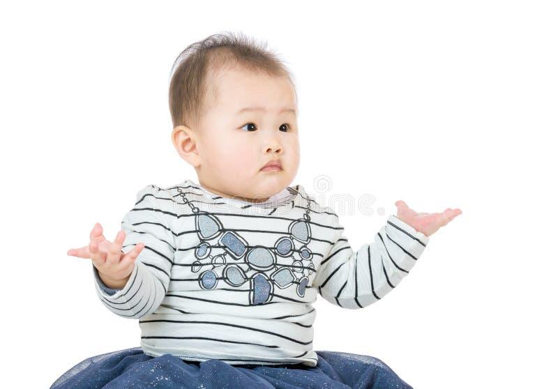 Behandla som ett barn ståenden arkivfoto